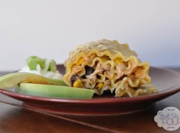 Tomatillo Chicken Enchilada Roll Ups