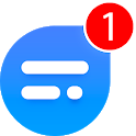 TextU - Private SMS Messenger, Call screening icon