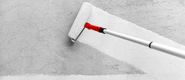 Sơn hiệu ứng Waldo - Bề mặt bàn giao sơn hiệu ứng - Sơn lót cho tường cũ