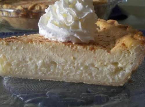 """Easter Rice Pie """"Oh my goodness, Jessica, this is like the best..."""