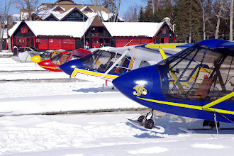 Photo: Challengers parked in boat slips. This photo was published in the April 2012 issue of the Canadian Owners and Pilots Association newsletter. http://www.challenger.ca/copa_apr2012.pdf