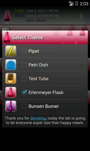 Timeriffic screenshot 3