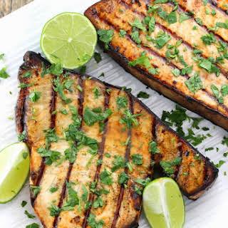 Cilantro-Lime Grilled Swordfish.