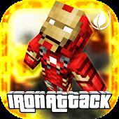 Iron Attack Robot -Super Pixel