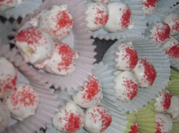 Melanie, made these for Valentine's day and for a bake sale for Smile Train....