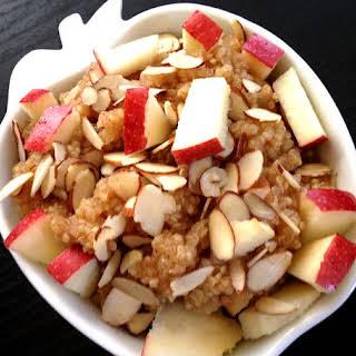 Apple Cinnamon Breakfast Quinoa.