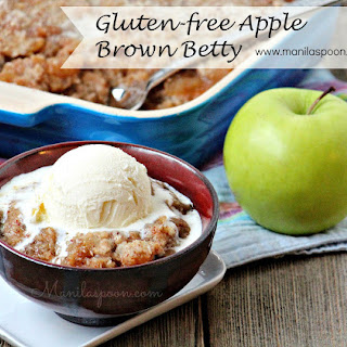 Gluten-free Apple Brown Betty
