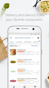 delivery.com: Order Food, Alcohol & Laundry