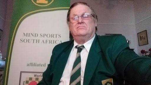 Colin Webster, general secretary of Mind Sports South Africa.
