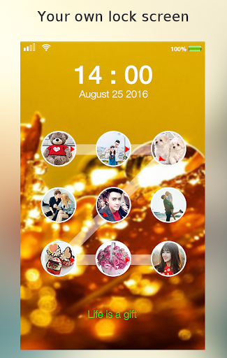 lock screen photo pattern screenshot 7