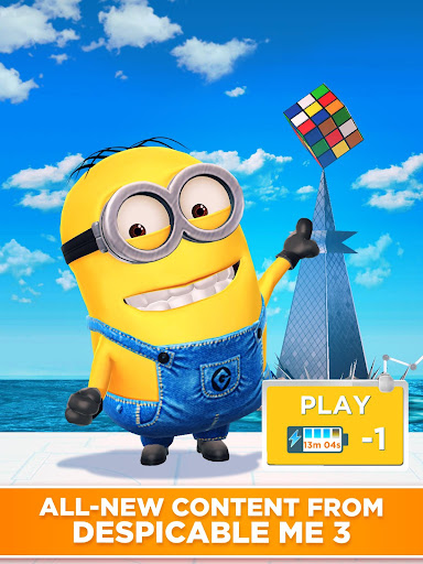 Minion Rush: Despicable Me Official Game game (apk) free download for Android/PC/Windows screenshot