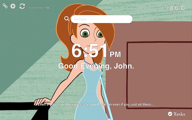 Kim Possible HD Wallpapers New Tab
