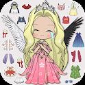 Vlinder Doll 2: dress up games icon