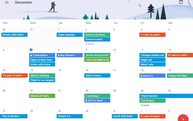 Calendar Dots