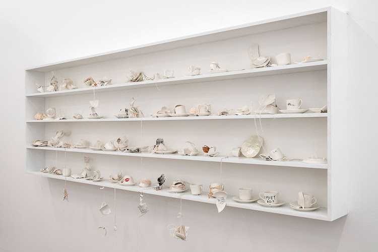 Yoko Ono, Mend Piece, 1966-2015, You & I installation view at A4 Arts Foundation