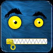 Monster Zipper Lock Screen