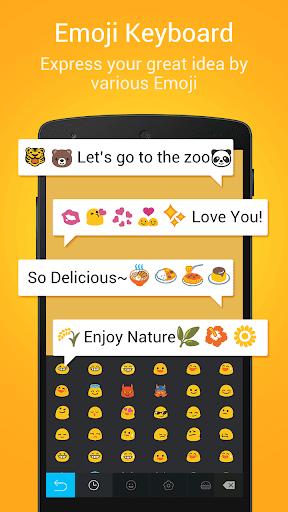 DU Emoji Keyboard(Simeji) screenshot 1