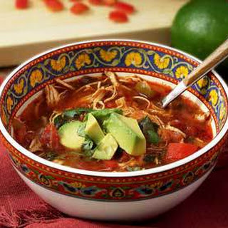 Paleo Crock Pot Chicken Fajita Soup
