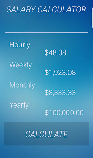 Salary Calculator- screenshot thumbnail