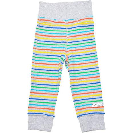 Geggamoja Babypant Multistripe Grey
