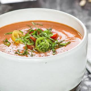 Tomato Basil Soup.