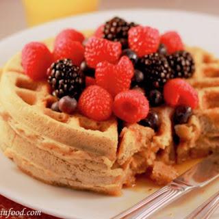 Healthy Waffles (Vegan and Gluten Free)
