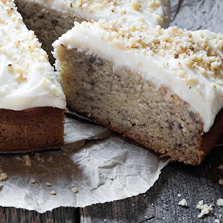 Simply Perfect Banana Cake with Cream Cheese Frosting Recipe