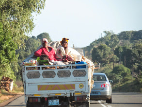 Photo: hauling passengers and coconuts