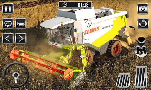 Farming Tractor Harvest Simulator - Tractor Drive  screenshots 2