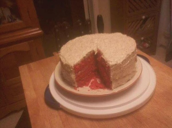 Red Velvet Cake Recipe In Pressure Cooker: Red Velvet Cake Recipe 4