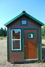 Photo: Insulated Tiny Shed