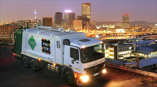 Trash piling up as protests hit service delivery in Joburg