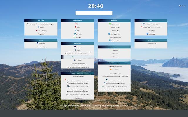 NewTabBookmarks