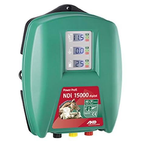 Elstängselaggregat AKO Power Profi NDi 15000 Digital - 230 Volt