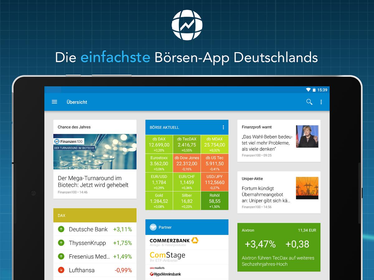 Finanznachrichten App