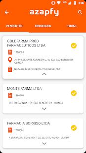 App AZAPFY MOTORISTAS - Comprovação de entregas APK for Windows Phone
