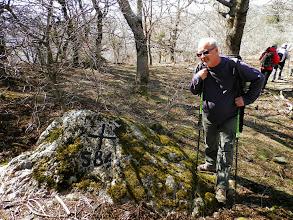 Photo: il a trouvé la croix frontière 584