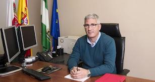 Ismael Torres en su despacho del Ayuntamiento.