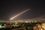 美英法聯手攻敘利亞 巡航導彈襲化武基地 大馬士革多次爆炸