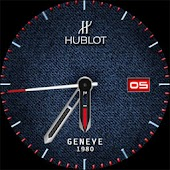 Watch Face Jeans HUBLOT Denim