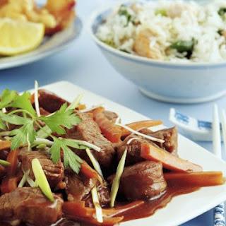 Stir-Fried Pork and Plum Recipe