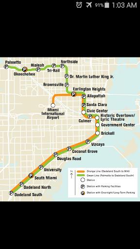 Miami Metro Map