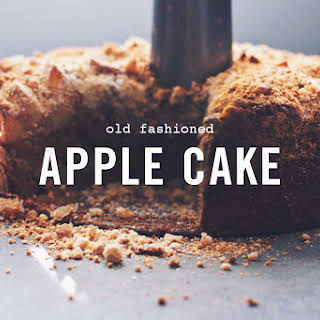 Old Fashioned Apple Cake (gluten-free and dairy-free).