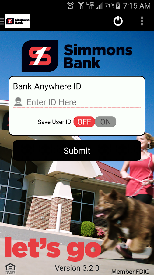 Simmons Bank Anywhere- screenshot