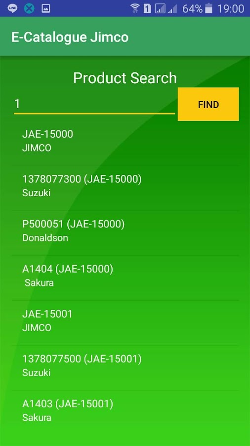 Jimco Filter- screenshot