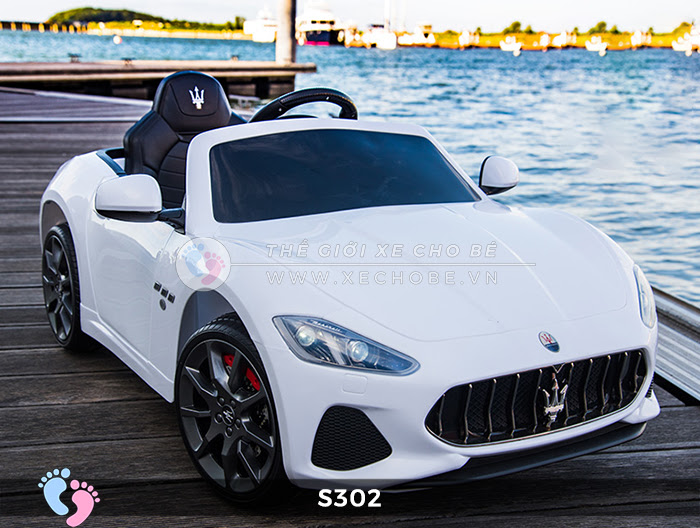 Ô tô cho trẻ em cao cấp Maserati S-302 14