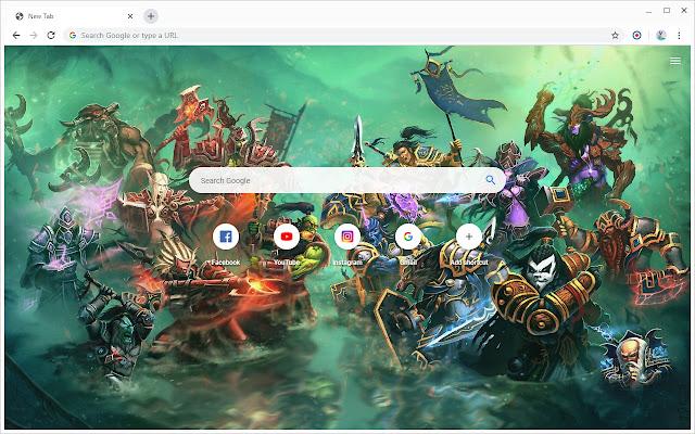 New Tab - World of Warcraft