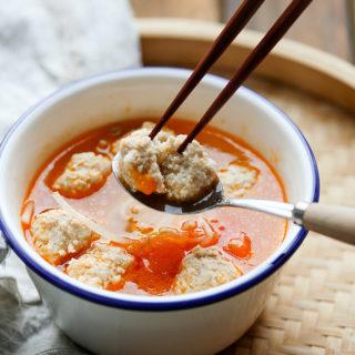 Tomato Meatball Soup Recipe