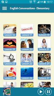 Learning English - Conversations for Elementary - náhled