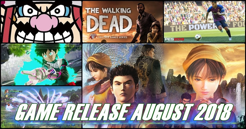 [Game Release] เกมเด็ด! เดือนสิงหาคม 2018